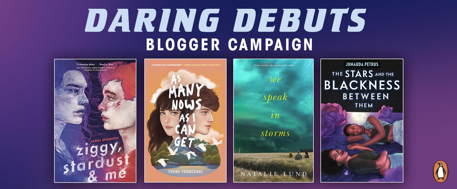 daring debuts blogger campaign