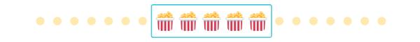 5 popcorn stars